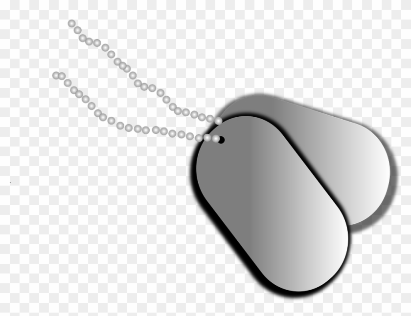 Dog Tags, Tags, Identification, Name, Military Clipart - Transparent Background Dog Tags Clipart #247530