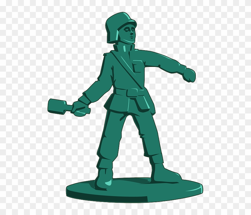 Army, Grenade, Military, Plastic, Play - Toy Soldier Clipart #247542