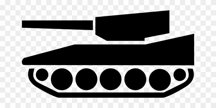 Adult Content Safesearch Tank Military Weapon Vehicle - Tank Silhouette #247599