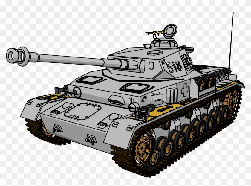 Panzer Tank Clipart Png Picture - Tank Clipart #247657