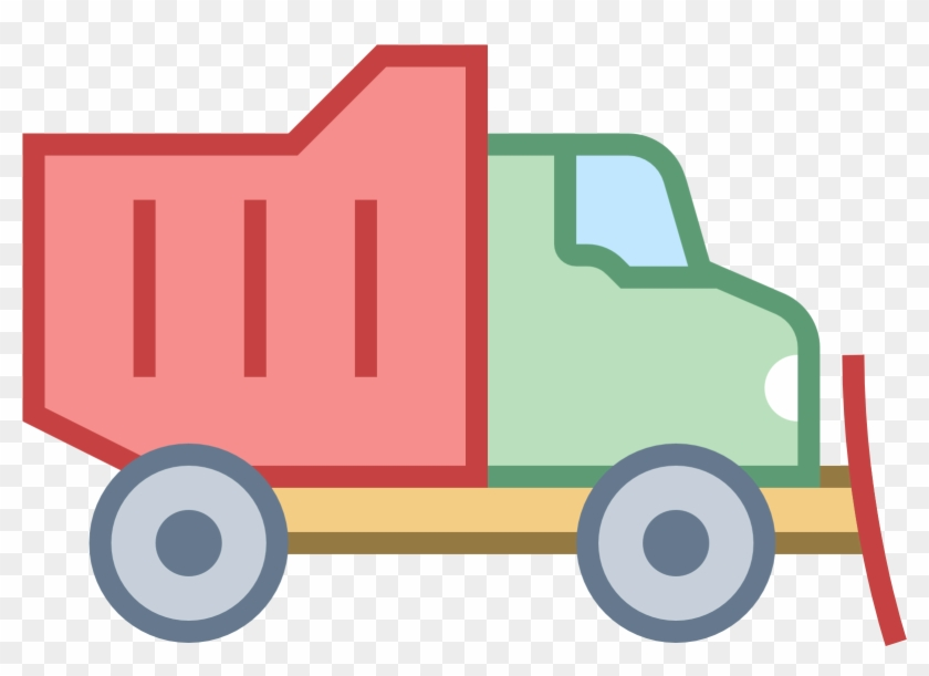Plow Truck Color Icon - Truck Logo Png Color #247692