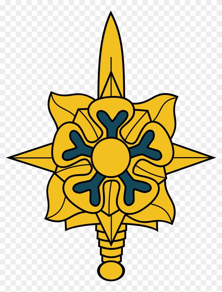 Mi Corps Insignia - Military Intelligence Branch Insignia #247759