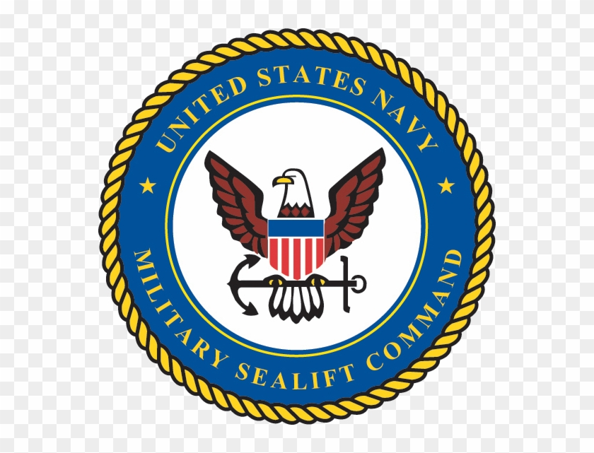 Seal Of The Military Sealift Command - Us Navy Military Sealift Command #247841