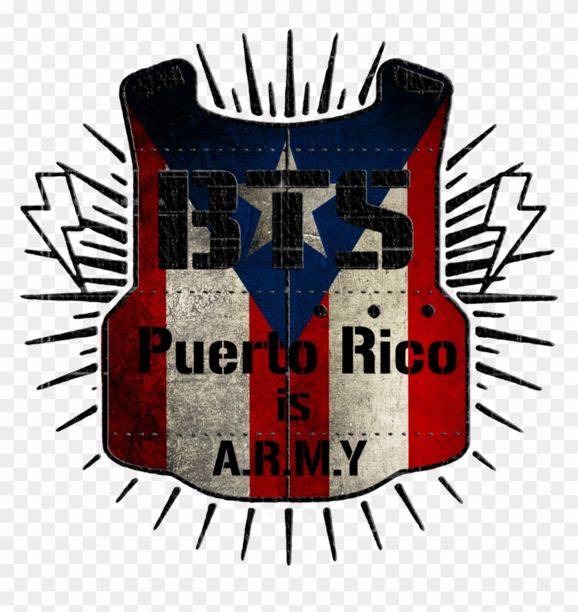 Bts Black Lines Logo Puerto Rico Is A - Youpop Kpop Bts