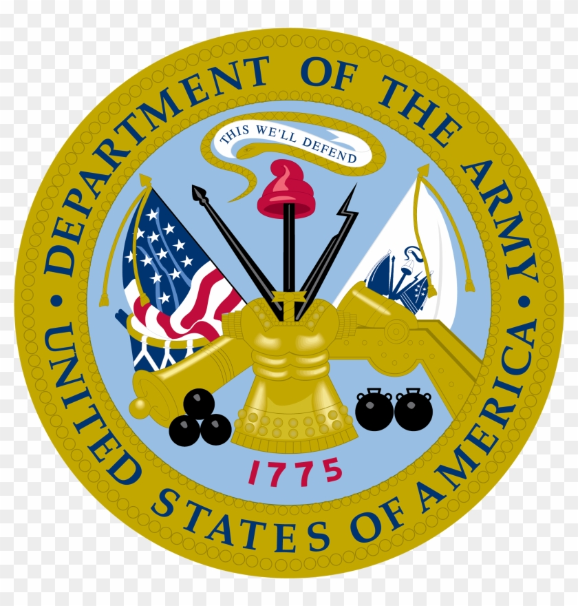 Army Seal - Department Of The Army High Resolution Logo #248078