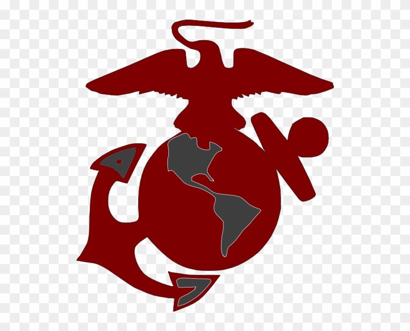Marines Logo2 Clip Art - Eagle Globe And Anchor #248523