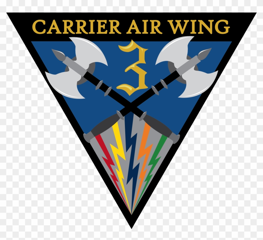 Carrier Air Wing Three Logo - Carrier Strike Group Three #248549
