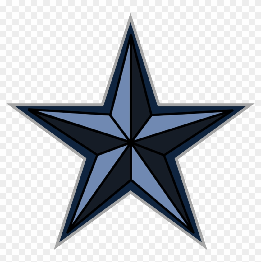 Dark Blue Star Clipart - Rio Grande Mexican Restaurant #248566