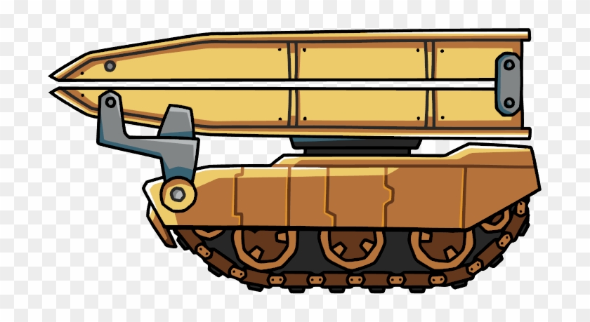 Bridging Vehicle - Scribblenauts Unlimited Military Vehicles #248691