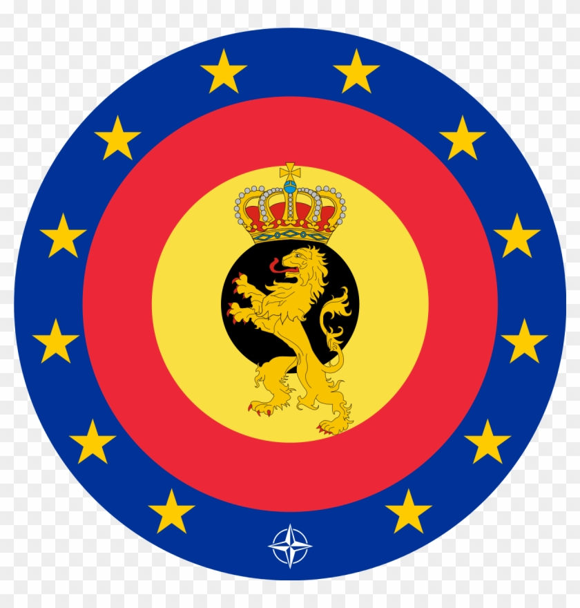 Coats Of Arms Of Belgium Military Forces - Modern