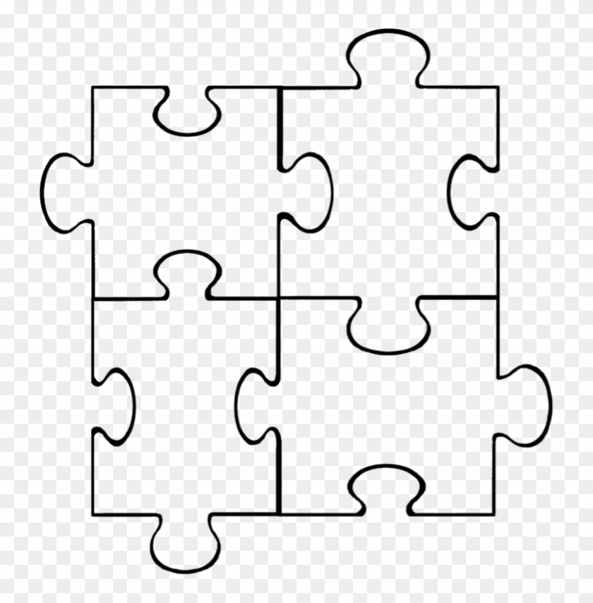image about Printable Blank Puzzle called Wondrous Blank Puzzle Areas Printable Template Targets4