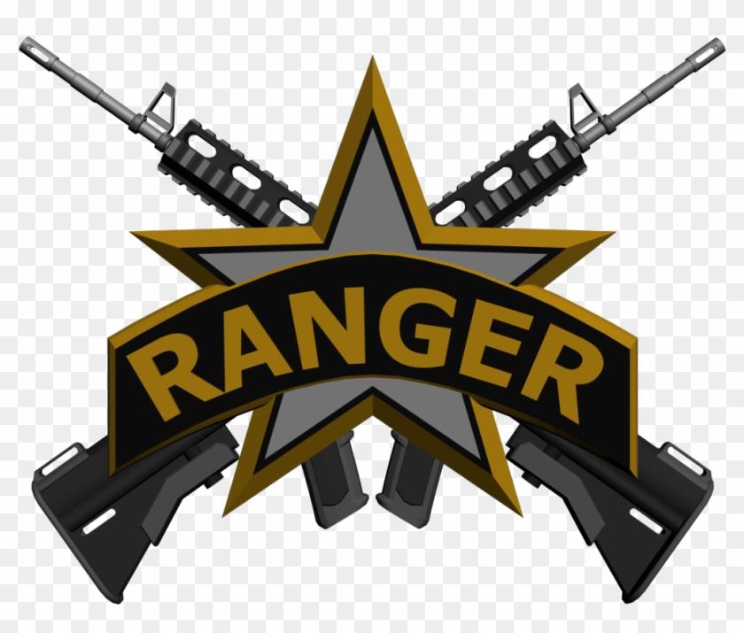 Us Army Ranger Symbol Clipart Duty Modern Warfare 2 Rangers Free