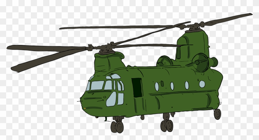 Military Helicopter Boeing Ch 47 Chinook Boeing Ah - Military Helicopter Clip Art #249008