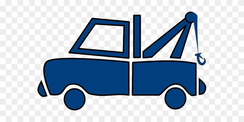 Tow Truck Wrecker Truck Vehicle Repair Ser - Tow Truck Clip Art #249037