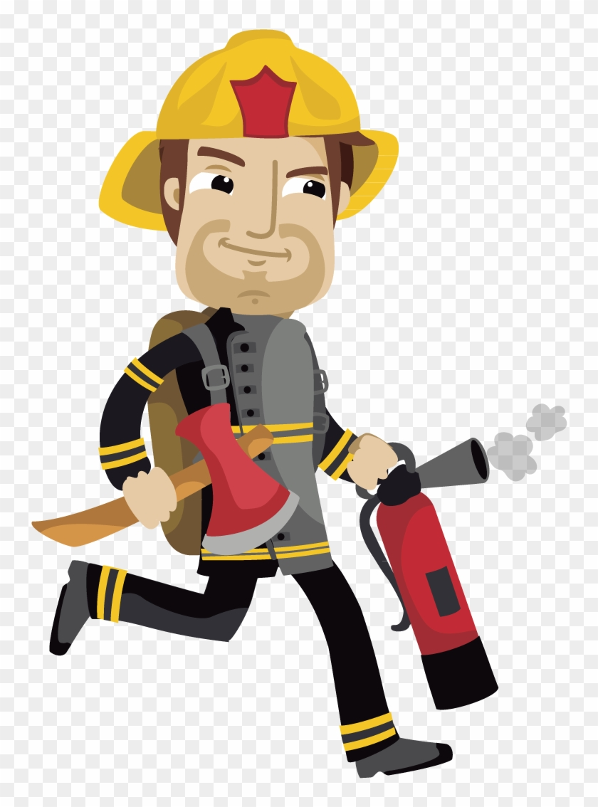 Fireman Sam Firefighter Cartoon - Firefighter Cartoon #249225