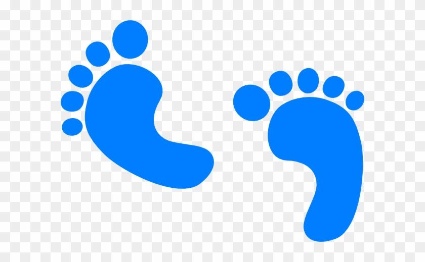 Foot Steps Clip Art - Baby Shower Png #249374