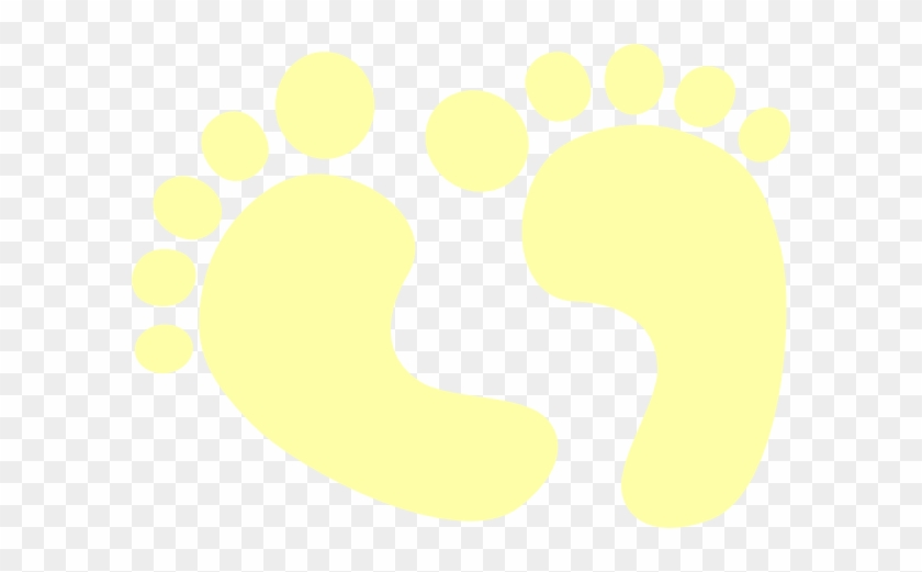 Baby Feet Clip Art At Clker - Foot #249384