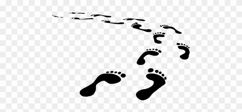 Footprints Png Clipart - Foot Prints Clip Art #249518