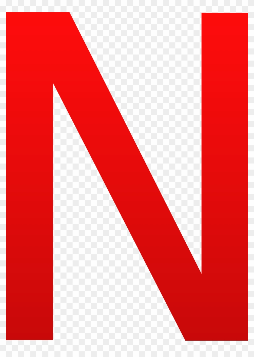 the letter n - letter n in red - free transparent png clipart images