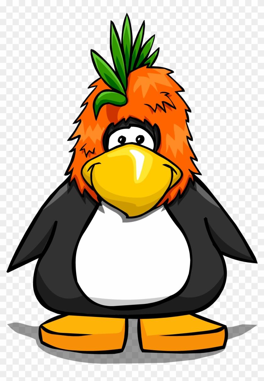Bird Mascot Head On Player Card - Penguin In A Bucket #250068
