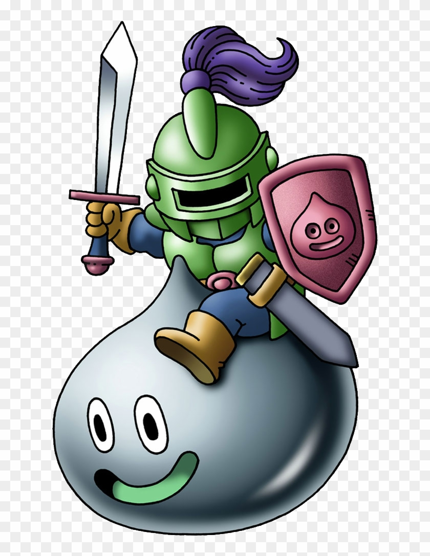 Metal Slime Knight - Dragon Quest Slime Knight #250173