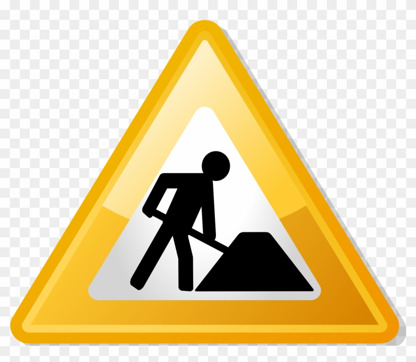 Fileunder Construction Icon Yellow - Under Construction Icon #250289
