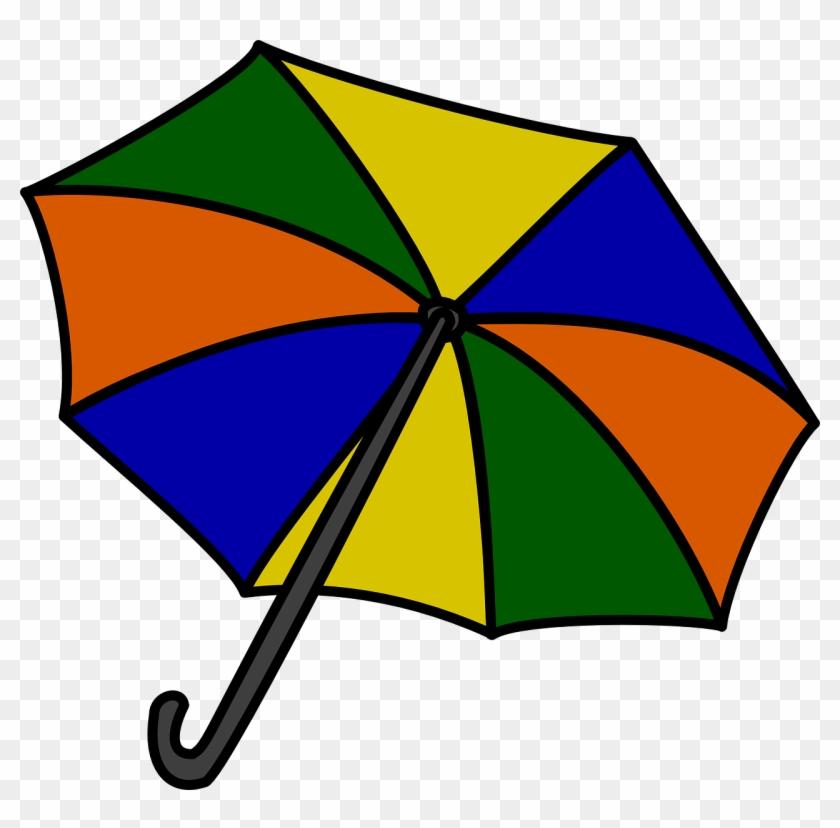 Outline, Umbrella, Drawing, Beach, Sun, Cartoon, Tools - Umbrella Clip Art #250822