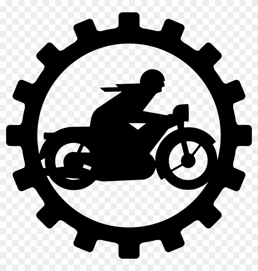 Oldtimer Motorcycle Mechanic Png Images 600 X - Custom Motorcycle Gear Sticker #250915