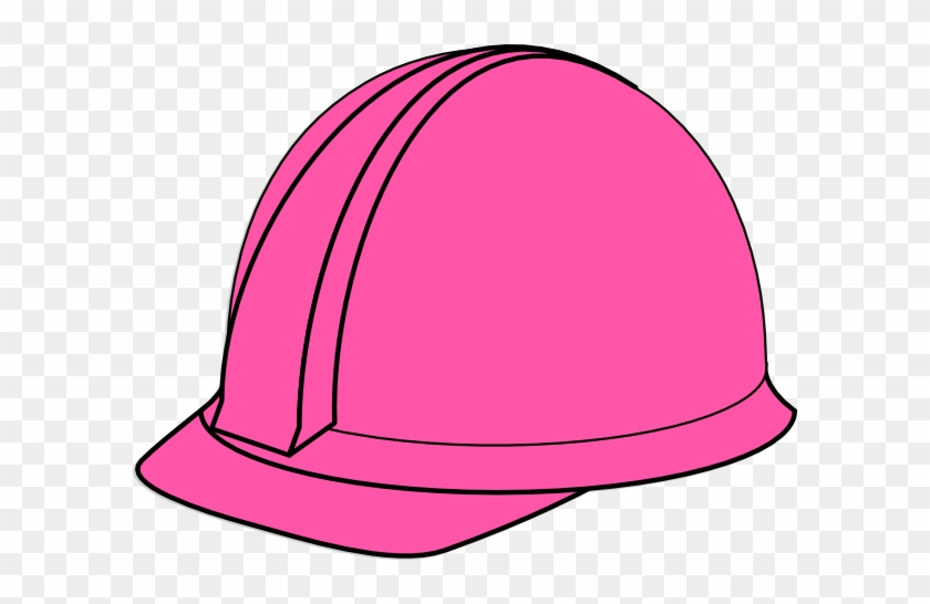 Pink - Birthday - Hat - Clipart - Construction Hard Hats Clip Art #251084