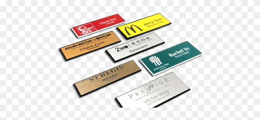 Laser Name Badges - Wood - Free Transparent PNG Clipart Images Download