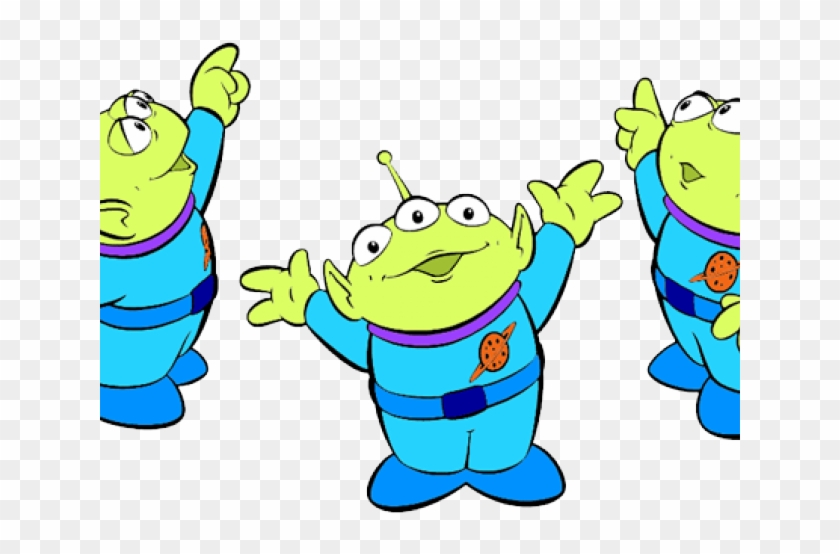 Toy Story Clipart Story Line Art - Toy Story Aliens Drawing #1604431