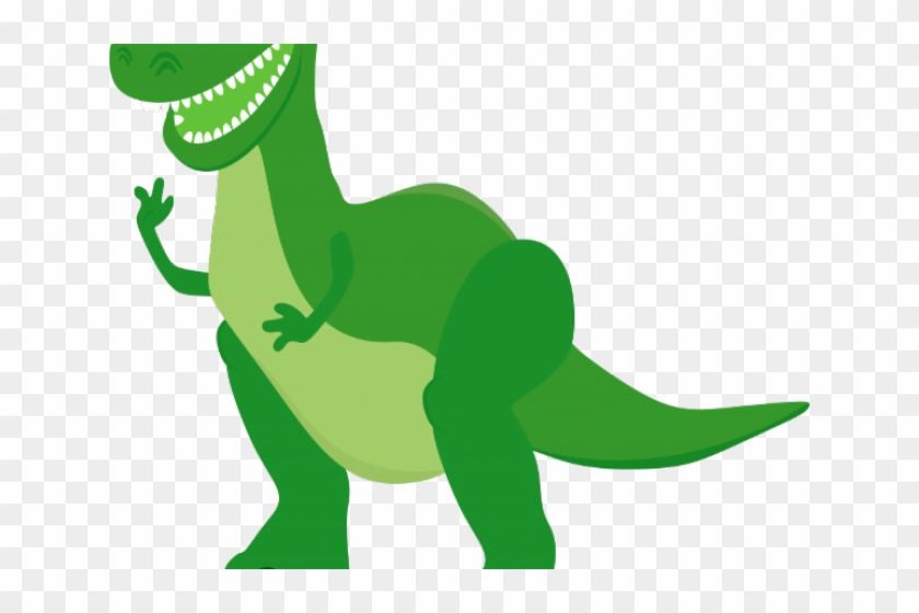 Toy Story Clipart T Rex - Rex From Toy Story Cartoon #1604433
