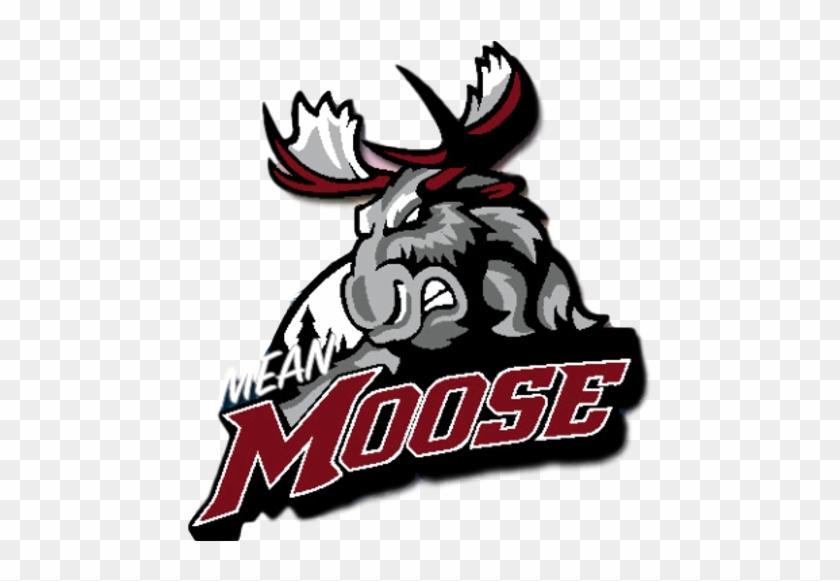 Alamosa Mean Moose - Manitoba Moose Logo #1604570