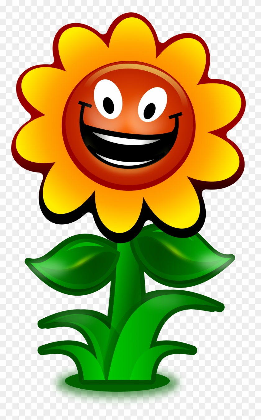 Luxury Flower Cartoon Pictures Clip Art Preschool Photos - Sunflower Clipart #1604601