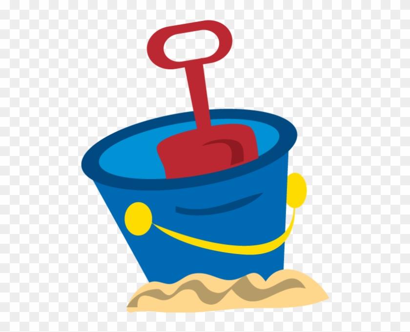 Картинка ведро с песком для детей