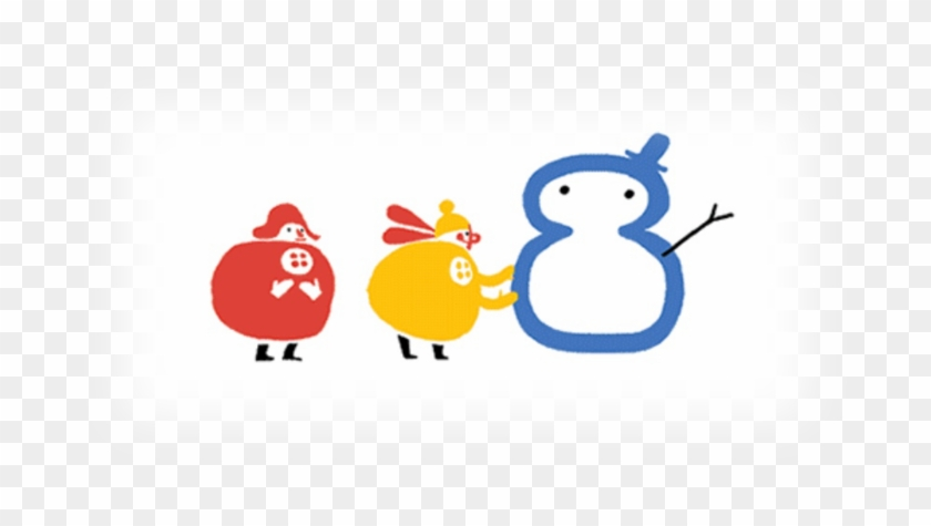 When I Checked The Google Doodle On The Solstice - Google Doodles Winter Snowman Gif #1607278