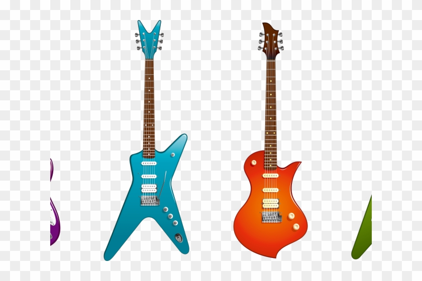 Guitarra Azul Desenho Png Free Transparent Png Clipart Images