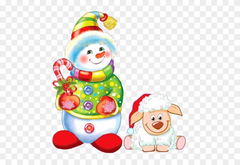 Merry Christmas Clipart Snowman - Merry Christmas Snowman Small Png #1607813