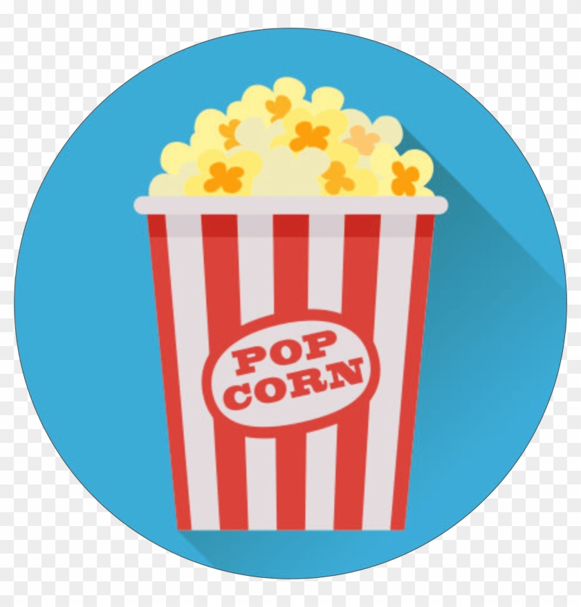 popcorn icon popcorn flat vector png free transparent png clipart images download popcorn icon popcorn flat vector png