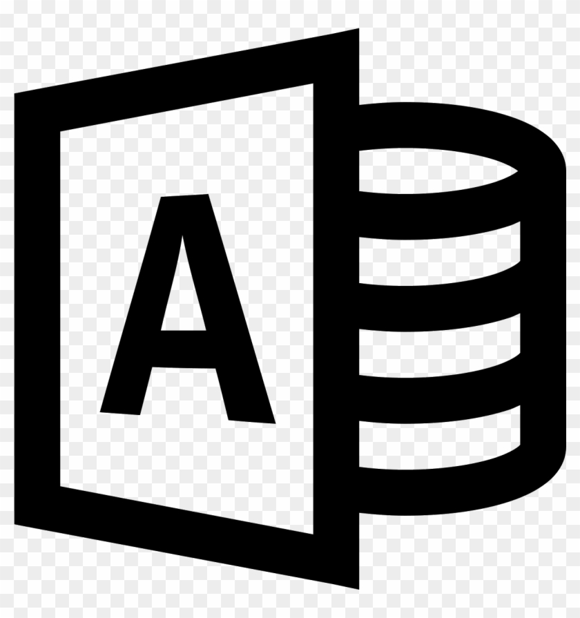 Access Icon Free Download Png And Vector Ⓒ - Microsoft Powerpoint Icon Png #1608028