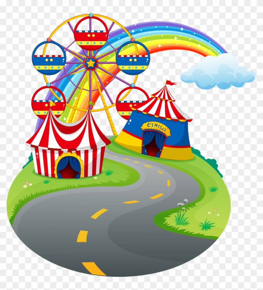 Carnival Circus Fiesta De Circo Carnaval Clipart Going To Amusement Park Free Transparent Png Clipart Images Download