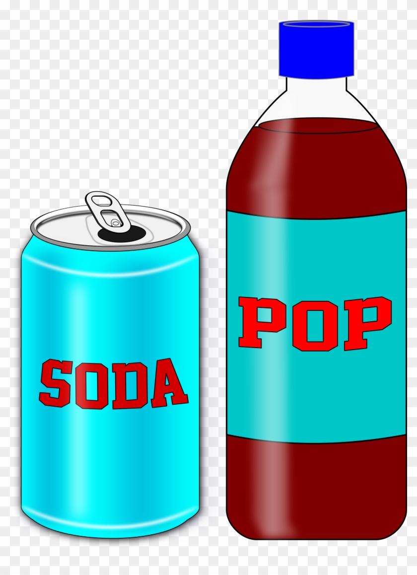 Big Image - Soda Drink Clipart #1609984