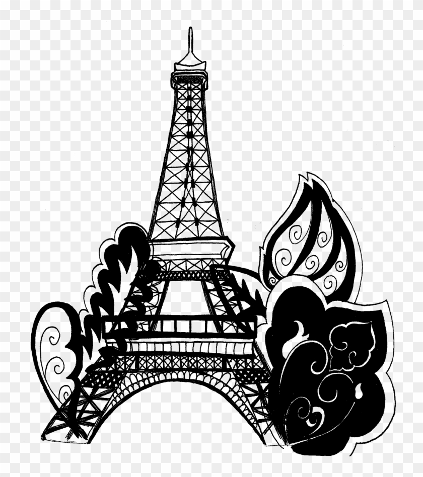 Eiffel Tower coloring page   Free Printable Coloring Pages   948x840