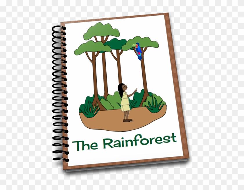 How To Make A - Teaching Preschoolers Rainforest #1612996