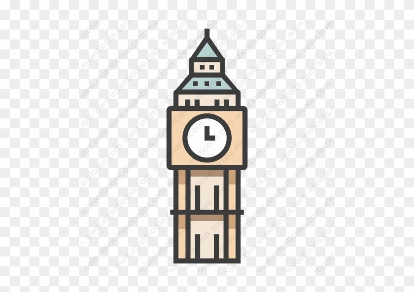 Big Ben Icon #1613139