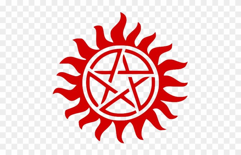 ghoul• - Supernatural Anti Possession Tattoo - Free