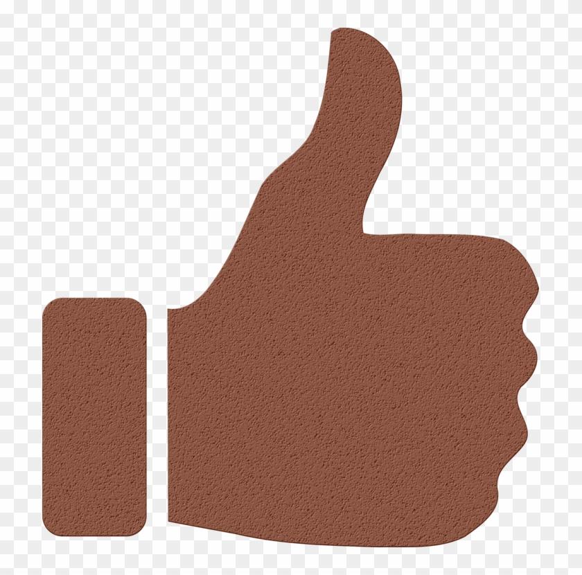 Thumb Signal Computer Icons Symbol Emoticon - Huge Thumbs Up Fb #1613918