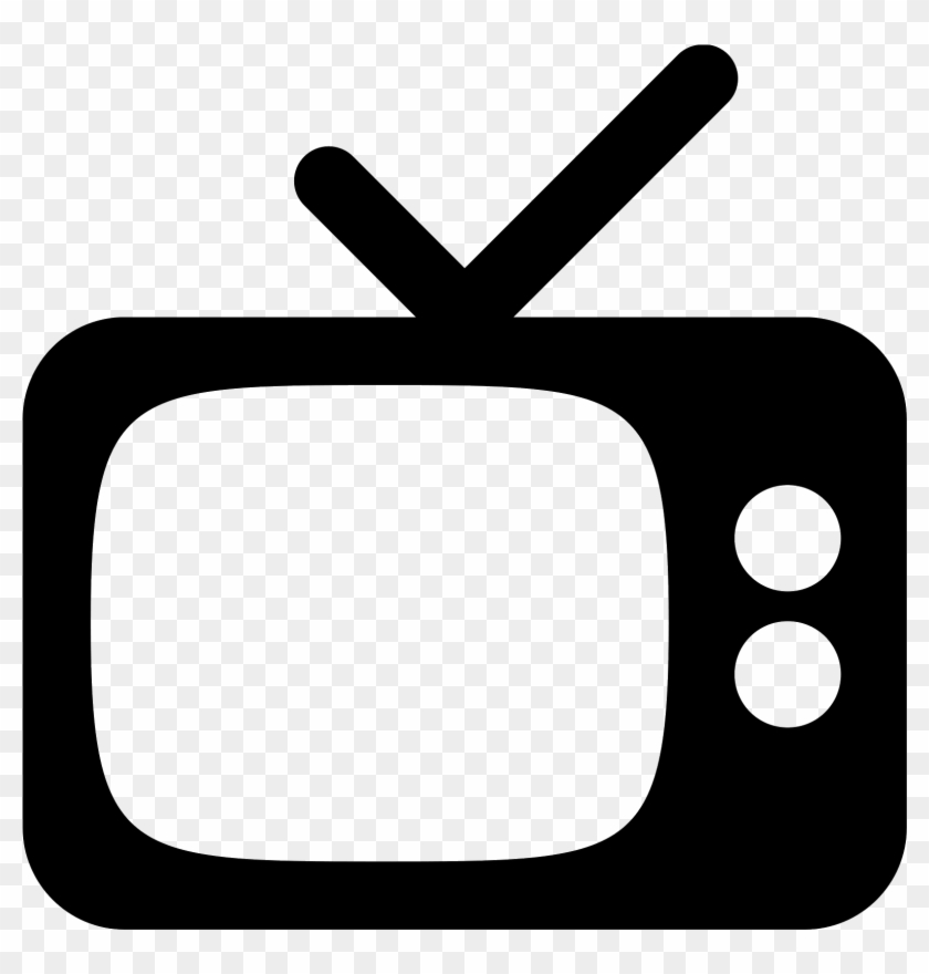 Retro Tv Icon Free Png And Download - Tv Icon - Free Transparent PNG