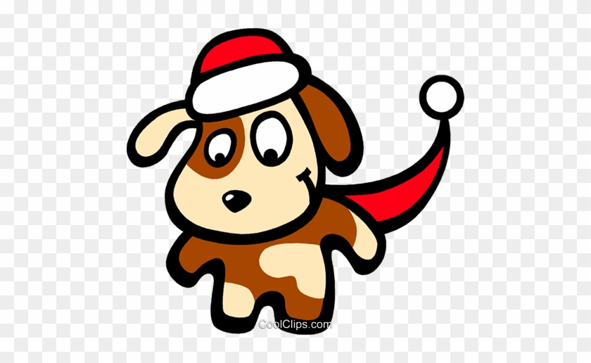 Santa's Helper Royalty Free Vector Clip Art Illustration - Christmas Borders And Frames #1615637