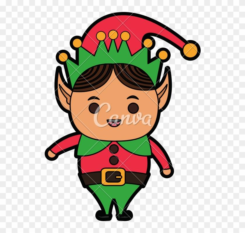 Santas Helper Character Image - Santas Helper Icon #1615649